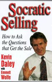 Cover of: Socratic selling