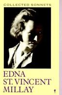 Cover of: Collected sonnets of Edna St. Vincent Millay