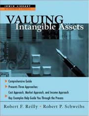 Cover of: Valuing intangible assets