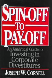 Cover of: Spin-off to pay-off | Joseph W. Cornell