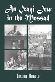 Cover of: An Iraqi Jew in the Mossad
