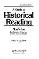 Cover of: A guide to historical reading