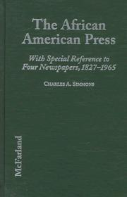 Cover of: The African American press | Charles A. Simmons