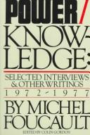 Cover of: Power/knowledge