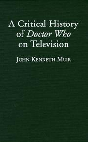 Cover of: A Critical History of Doctor Who on Television