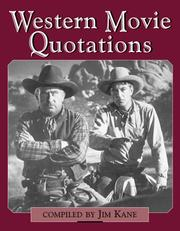 Cover of: Western movie quotations