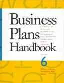 Cover of: Business plans handbook |