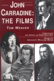 Cover of: John Carradine