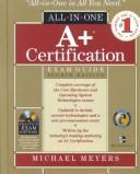 Cover of: A+ certification exam guide | Michael Meyers