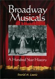 Cover of: Broadway Musicals