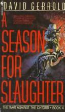Cover of: A season for slaughter