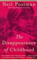 Cover of: The disappearance of childhood