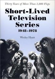 Cover of: Short-Lived Television Series, 1948-1978 | Wesley Hyatt