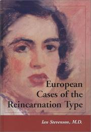 Cover of: European Cases of the Reincarnation Type