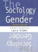 Cover of: The Sociology of Gender | Laura Kramer