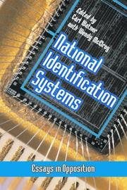 Cover of: National Identification Systems |