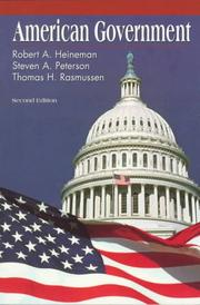 Cover of: American government | Robert A. Heineman