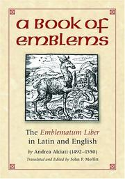 Cover of: A book of emblems