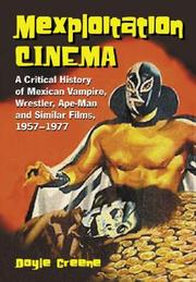 Cover of: Mexploitation cinema | Doyle Greene
