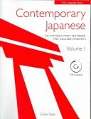 Cover of: Contemporary Japanese