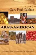 Cover of: Arab/American