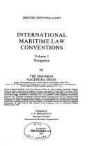 Cover of: International maritime law conventions