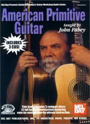 Cover of: Mel Bay American Primitive Guitar