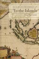 Cover of: To the Islands