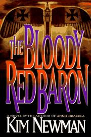 Cover of: The bloody Red Baron