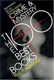 Cover of: Crime and Mystery: The 100 Best Books