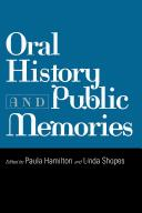 Cover of: Oral history and public memories |