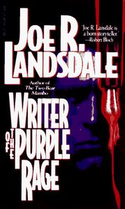 Cover of: Writer of the Purple Rage