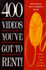 Cover of: 400 videos you've got to rent!