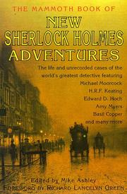 Cover of: The Mammoth Book of New Sherlock Holmes Adventures