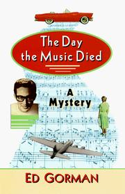 Cover of: The day the music died: a mystery