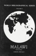 Cover of: Malawi (World Bibliographical Series, Vol 8)