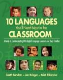 Ten Languages Youll Need Most in the Classroom