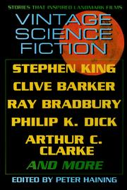 Cover of: Vintage Science Fiction: Stories Inspired by Landmark Films