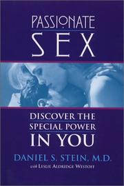 Cover of: Passionate Sex | Daniel Stein