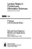 Cover of: Discrete Event Systems