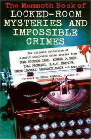 Cover of: The Mammoth Book of Locked-Room Mysteries and Impossible Crimes