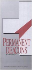 Cover of: Permanent Deacons