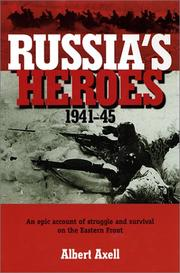 Cover of: Russia's heroes