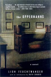 Cover of: The Oppermanns: a novel