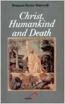 Cover of: Christ, humankind and death