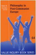 Cover of: Philosophy in post-communist Europe |
