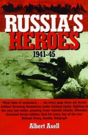 Cover of: Russia's Heroes, 1941-1945