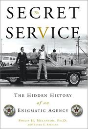 Cover of: The Secret Service | Philip H. Melanson, Peter F. Stevens