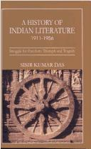 Cover of: History of Indian Literature (1911-1956)