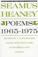Cover of: Poems, 1965-1975